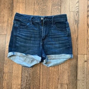 Hollister High Rise Jean Shorts